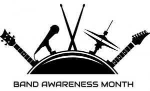Band Awareness Month logo
