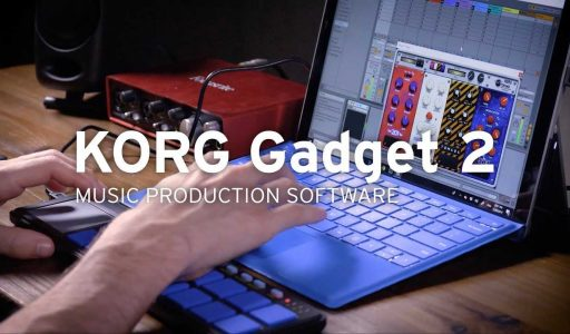 Working with Korg Gadget 2