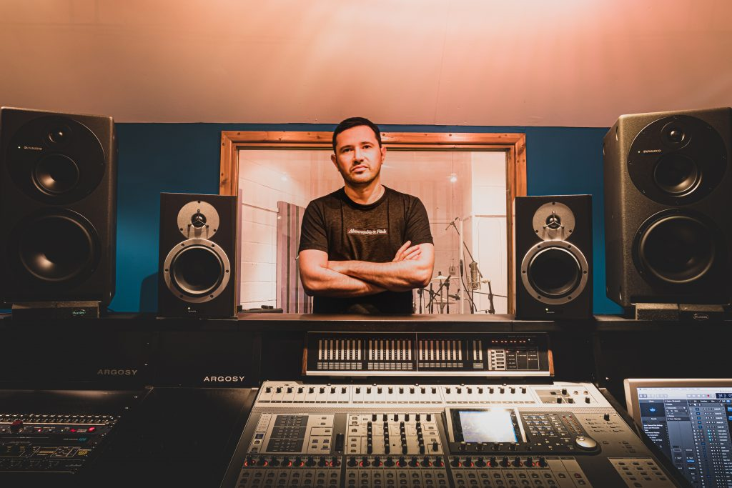Manchester music studio - Andy Ross